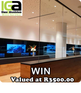IGA Glass Prize Banner